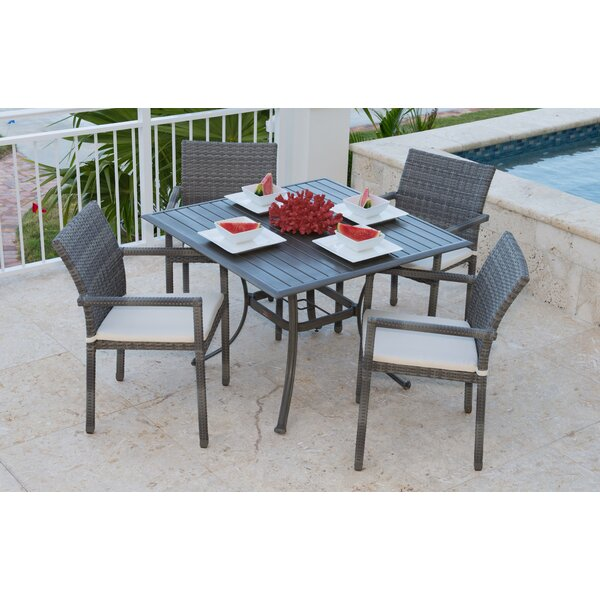 Newport Beach 5 Piece Dining Set by Panama Jack Outdoor