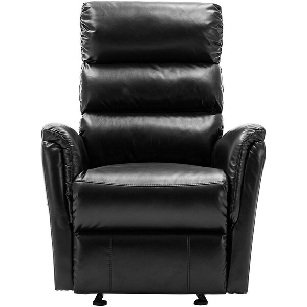Tollstrup Faux Leather Manual Glider Recliner W003371572