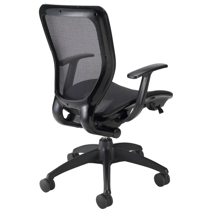 enjoy products executive mesh chair back and office medium smile