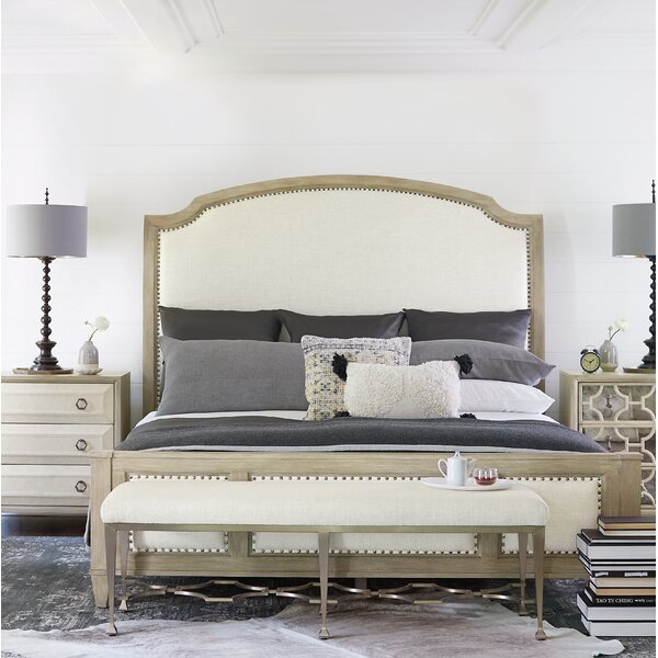Santa Barbara Queen Upholstered Standard Bed by Bernhardt