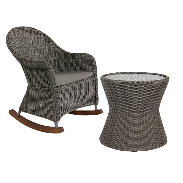 Hamza Patio Chair with Cushions by One Allium Way