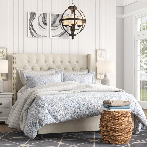 Davina Upholstered Standard Bed by Willa Arlo Interiors