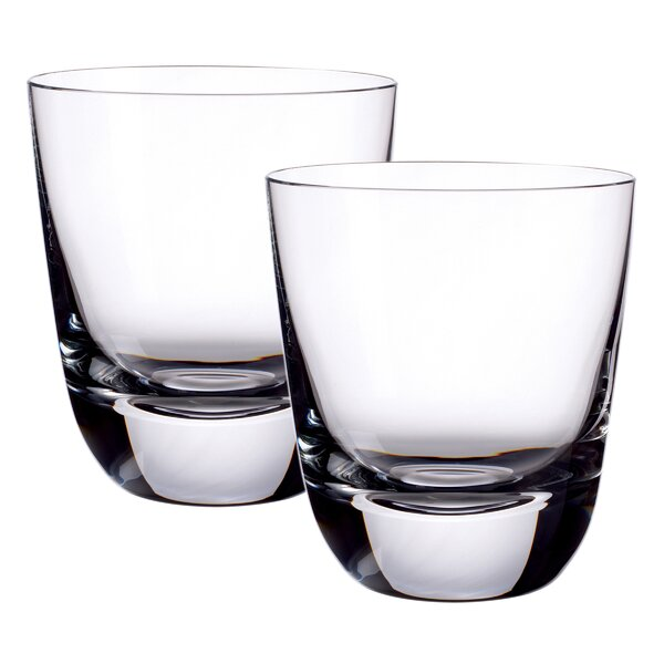 American Bar Straight Bourbon Double Old Fashioned Glass (Set of 2) by Villeroy & Boch