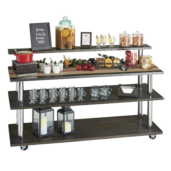Cinderwood U- Build Cart 4ft Shelf Bar Cart by Cal-Mil