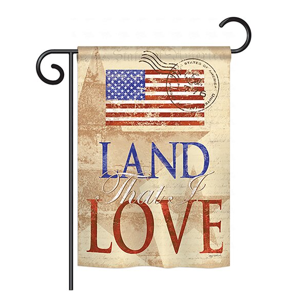 Land That I Love 2-Sided Vertical Flag by Breeze Decor
