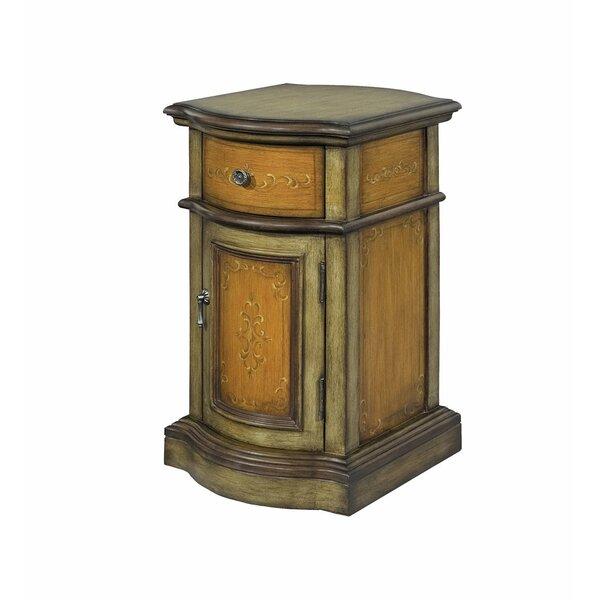 Debi 1 Door Accent Cabinet
