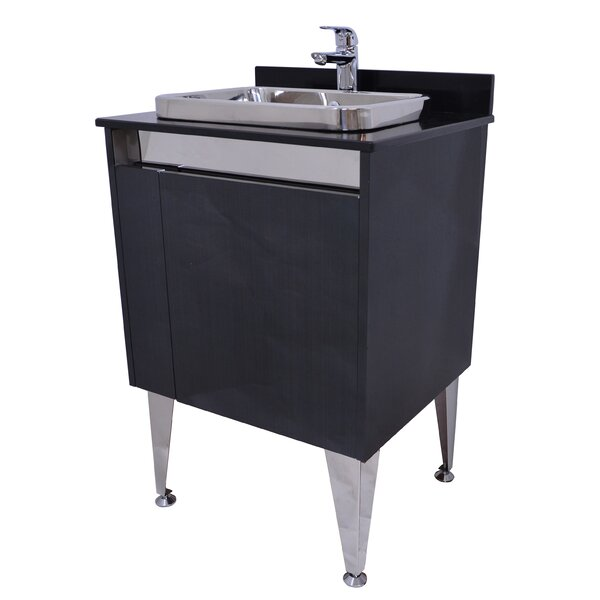 Spears 24  Bathroom Vanity with Faucet by Orren Ellis