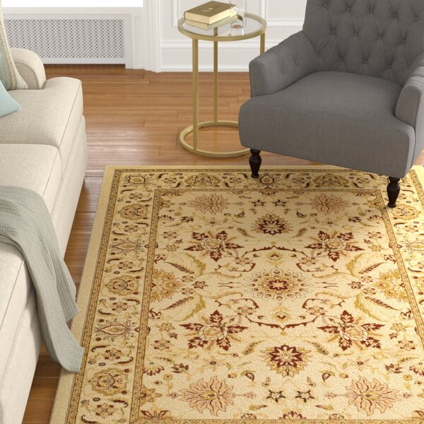 Ottis Cream Area Rug by Charlton Home