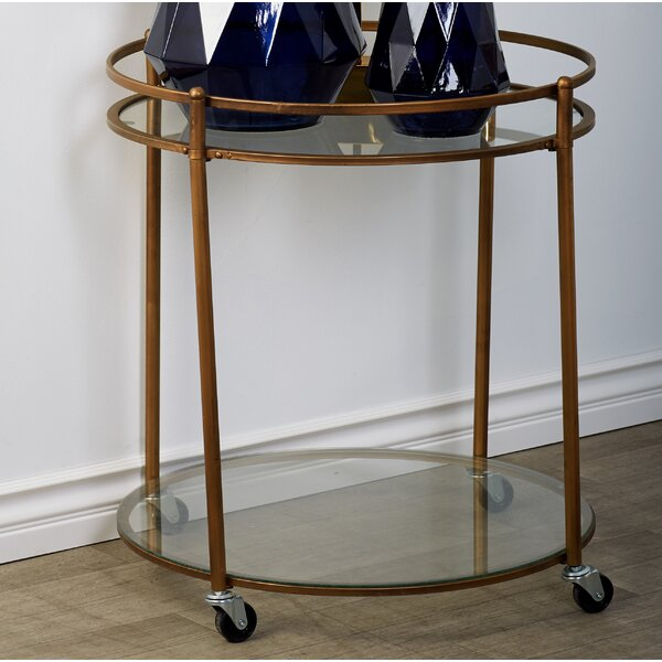 Vera Bar Cart By Cole & Grey Top Reviews