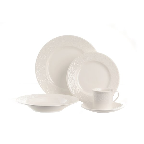 Riviera 5 Piece Place Setting, Service for 1 by Red Vanilla