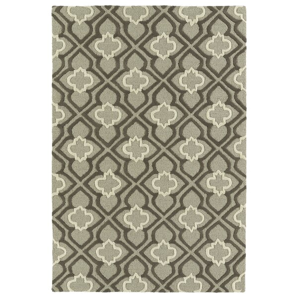 Bryant Handmade Gray Area Rug by Charlton Home