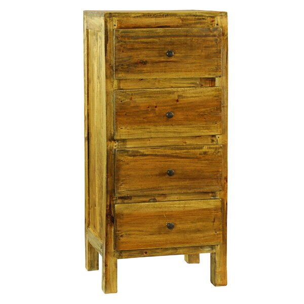 Lucia 4 Drawer Chest by Antique Revival