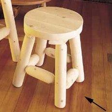 18 Cedar Patio Bar Stool (Set of 2) by Rustic Natural Cedar Furniture