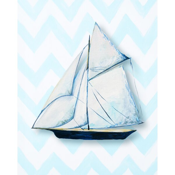 Nautical Ship Paper Print by Cici Art Factory