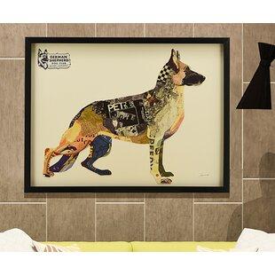 German Shepherd Wall Art Wayfair