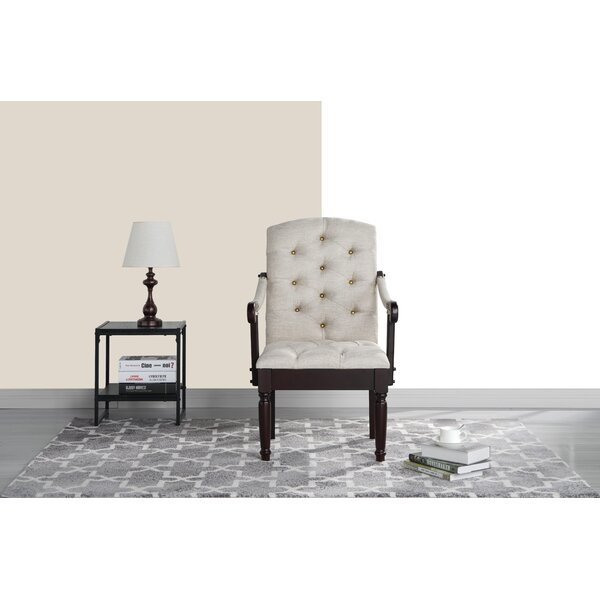 Diamondback Traditional Upholstered Dining Chair by Charlton Home