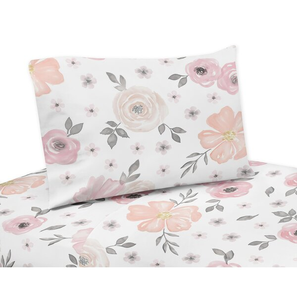 Watercolor Floral Sheet Set by Sweet Jojo Designs