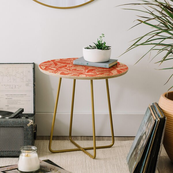 Jenean Morrison Leave Me Be End Table by East Urban Home East Urban Home