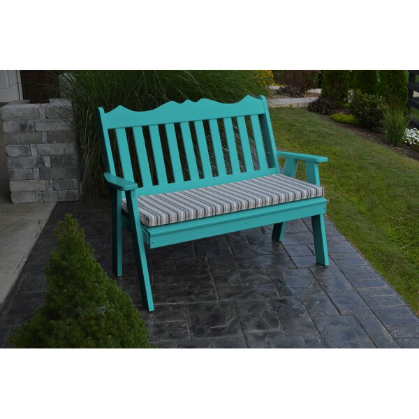 Nicholas English Garden Bench by Red Barrel Studio Red Barrel Studio