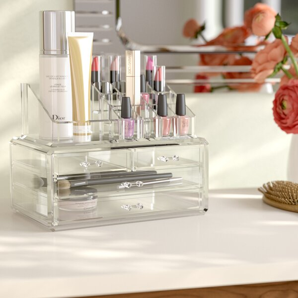 Jewelry and Cosmetic Organizer by Rebrilliant