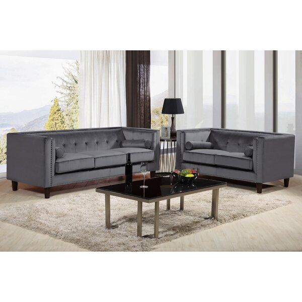 Sela 2 Piece Living Room Set by Mercer41