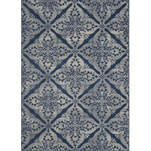 Anzell Blue/Gray Area Rug