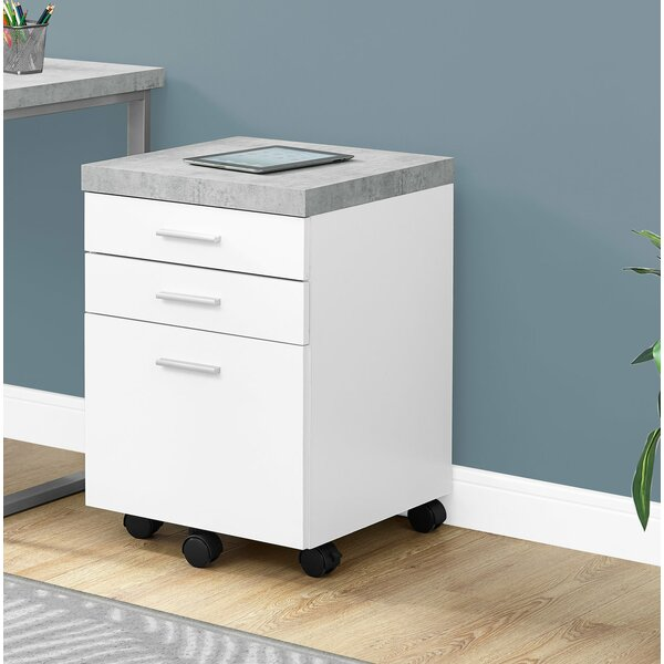 Montsalas 3 Drawer Vertical Filing Cabinet by Orren Ellis