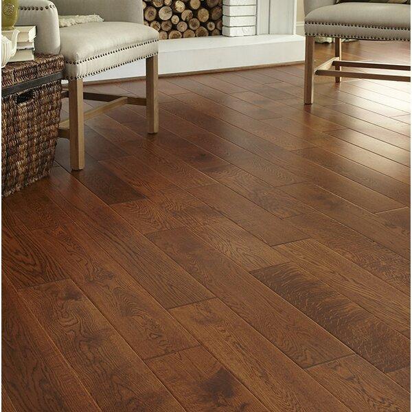 Daphne French 6 Solid Oak Hardwood Flooring in Caramel by Welles Hardwood