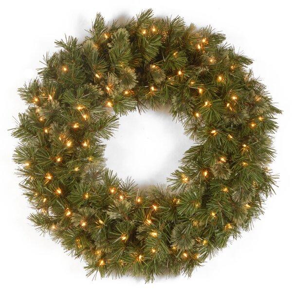 Wispy Willow Pre-Lit Wreath by National Tree Co.
