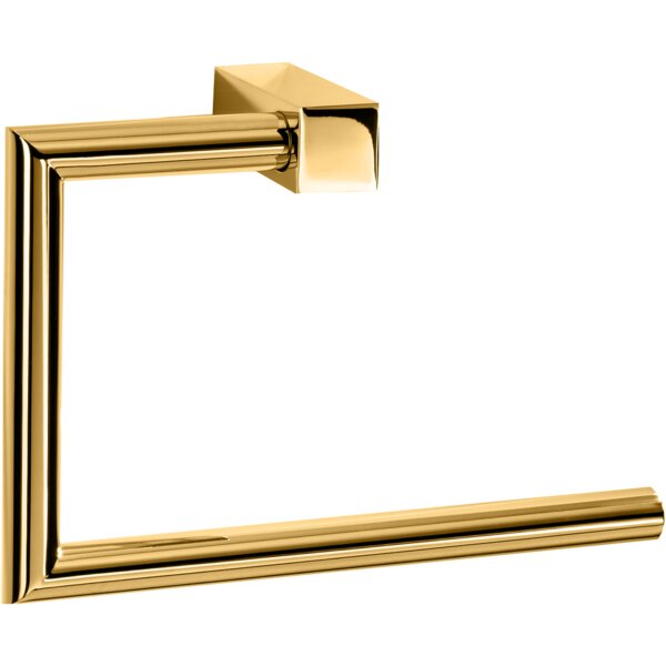 Brass Towel Ring by AGM Home Store