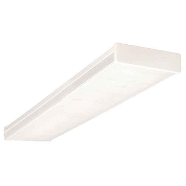 2-Light Wrapround Ceiling Light by NICOR Lighting