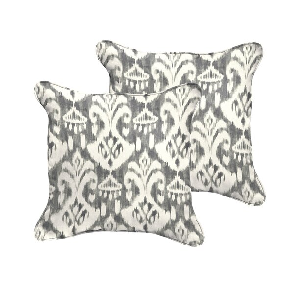 Jenifer Reagan Indoor/Outdoor Throw Pillow (Set of 2) by Fleur De Lis Living