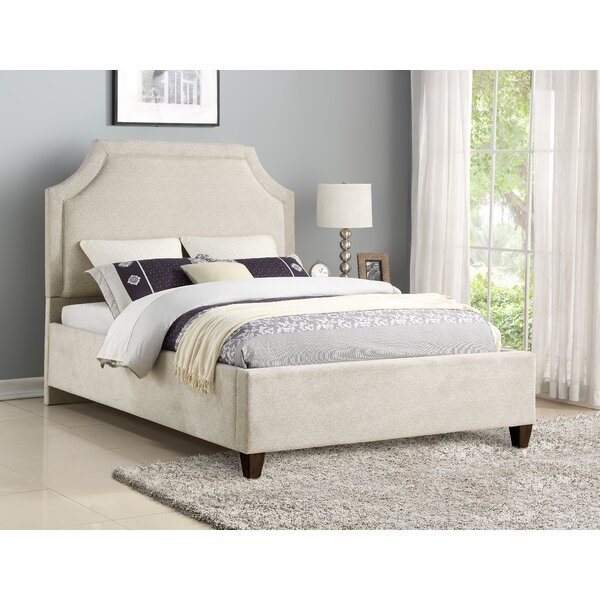 Lindsy Upholstered Standard Bed by Darby Home Co