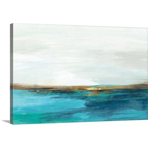 'Pastoral Landscape' by PI Studio Painting Print on Canvas by Great Big Canvas