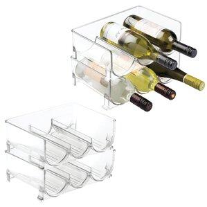 Fridge Binz Stackable 3 Wine Bottle Rack by InterDesign