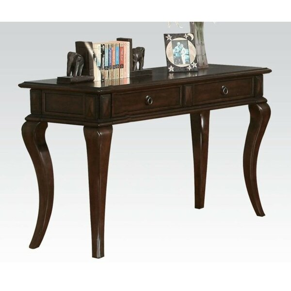 Review Uniontown Wood And Metal Console Table