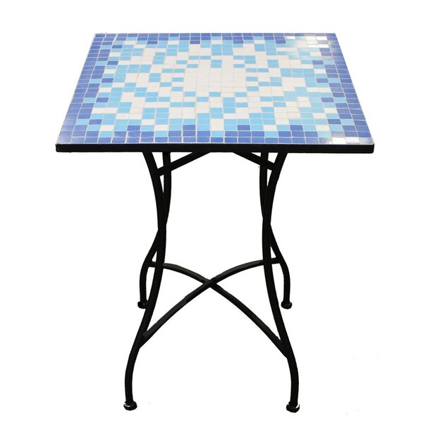 Cervantez Square Mosaic Bistro Table by August Grove