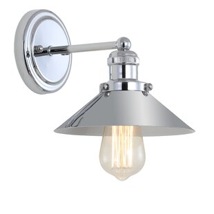 Best Choices Courtland 1-Light Bath Sconce By Breakwater Bay