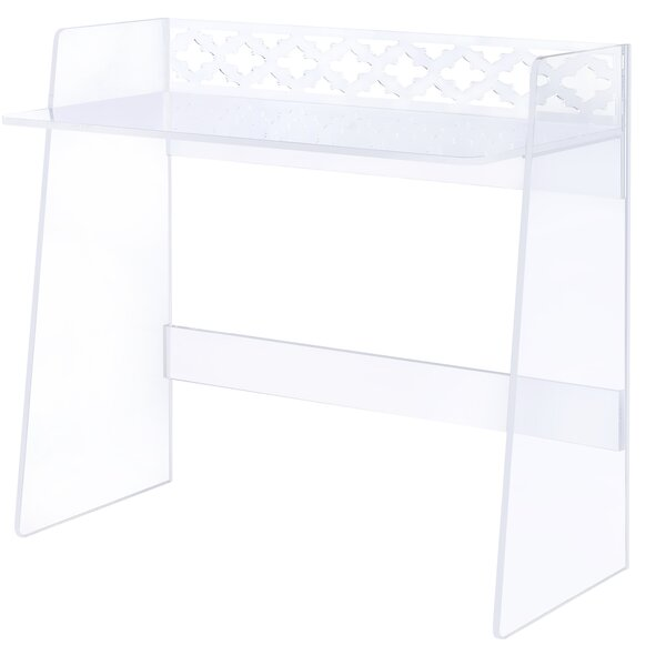 Lucite Writing Desk by Symple Stuff