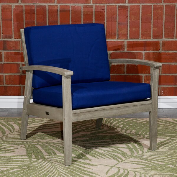 Buecker Deep Seat Patio Chair with Cushions by Highland Dunes