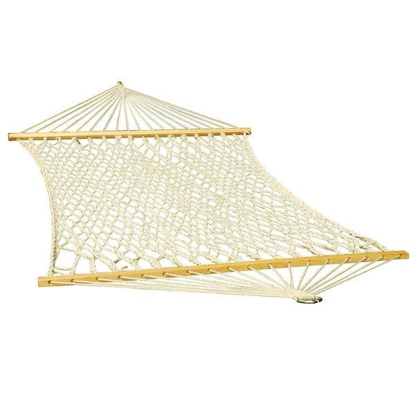 Rope Cotton Tree Hammock by Algoma Net Company