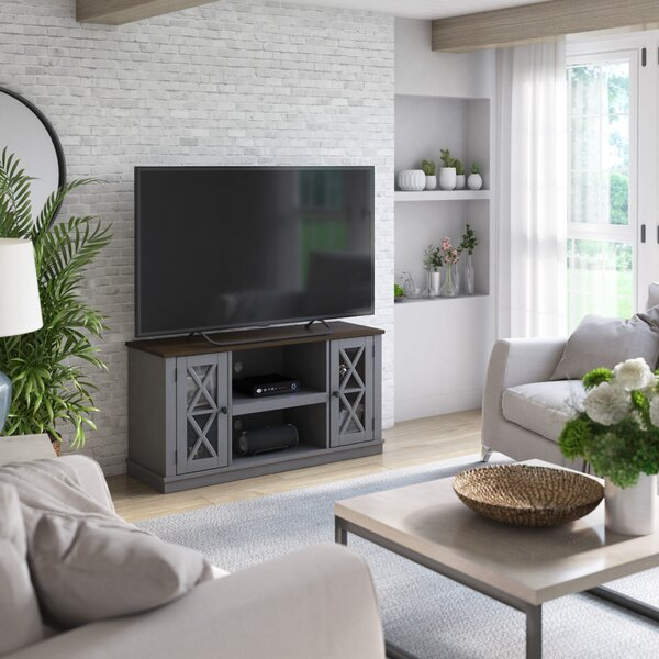 Affordable Emelia TV Stand for TVs up to 55 by Breakwater Bay