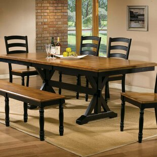 Look for Courtdale Extendable Dining Table ByThree Posts