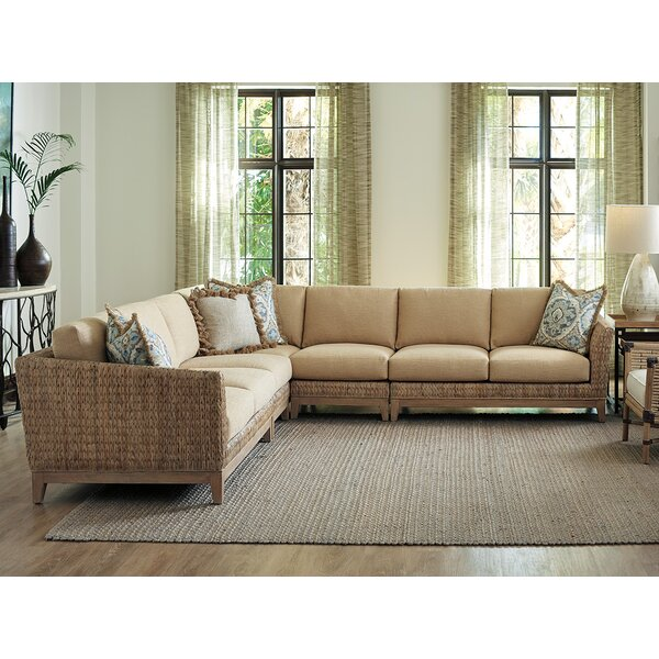 Los Symmetrical Altos Sectional By Tommy Bahama Home