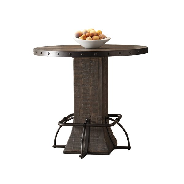 Cathie Round Counter Height Dining Table by Gracie Oaks