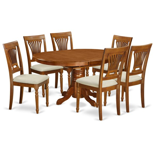 Spurling 7 Piece Dining Set by August Grove August Grove
