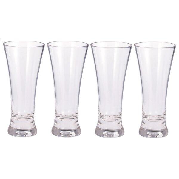 12 oz. Plastic Pint Glass (Set of 4) by Chenco Inc.