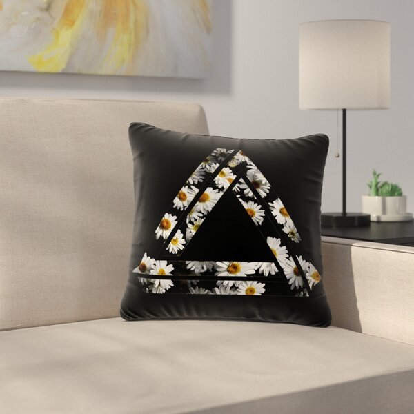 Alias Impossible Daisy Chain Outdoor Throw Pillow by East Urban Home