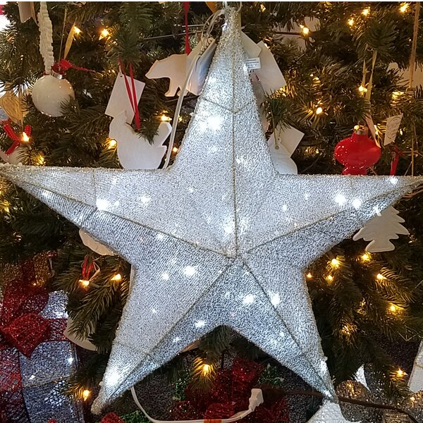 Christmas Pre-Lit 60 LED Lighted 3-D Star by The Holiday Aisle