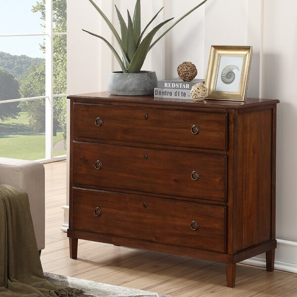 Hillman 3 Drawer Dresser by Alcott Hill